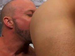 Gay cock vidz Horny Office  super Butt Banging