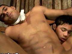 Ass Pounding vidz With Muscled  super Gay Couple