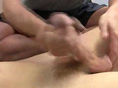 Sexy men vidz Mr. Hand  super then settled down into a