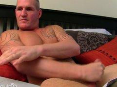 Muscular Straight vidz Guy Maverick  super Masturbating