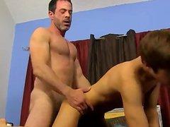 Sexy men vidz After his  super mom caught him drilling