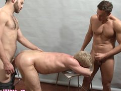 Powerful tops vidz fucking in  super threesome