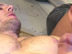British tattood vidz jock double  super penetrated