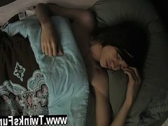 Hot gay vidz sex Roxy  super Red wakes up corded to a