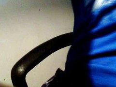 Me stroking vidz to my  super friend Gigi 2-17-2014