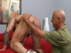 Grandpa fucks vidz muscle hunk  super Zeb Atlas