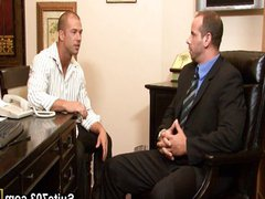 Bald gays vidz Girth and  super Rod have oral and anal
