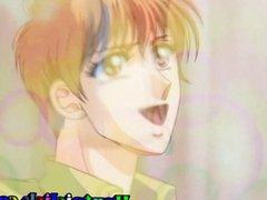 Little anime vidz gay gets  super anal bareback