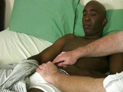 Tony Jackson vidz gets his  super cock stroked