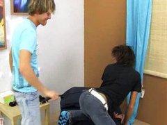 Playful spanking vidz licking and  super rimming