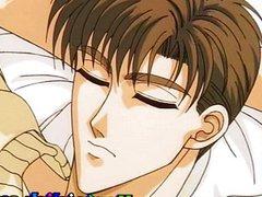 Cute anime vidz gay gets  super bareback fucked