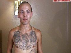 Latino thug vidz with big  super dick
