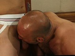 Sporty guys vidz fall for  super each other