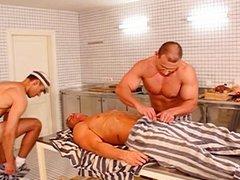 Gay prison vidz threesome