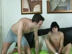 Race and vidz Tanner jerk  super off with each other