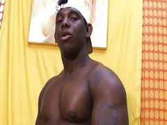 Black guy vidz stroking cock  super for you