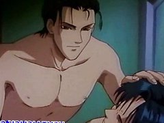 Anime gay vidz kissing and  super making out