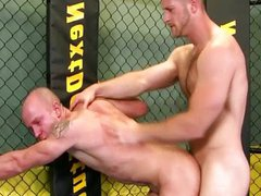 Studs fucking vidz after wresting  super practice