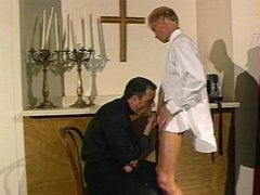 A priest vidz and his  super altar boy
