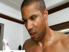 Ebony guy vidz fucking gay  super masseuse
