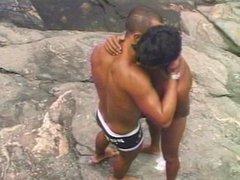 Latin boys vidz doing a  super threesome