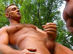 Guys show vidz some muscle  super in the woods