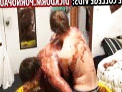 Wrestling college vidz guys jerking  super off