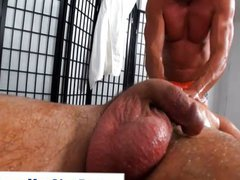 Straight guy vidz gets his  super dick sucked by hunk