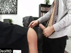 Gay studs vidz gets fucked  super in his ass at office
