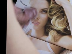 tribute to vidz Scarlett Johansson  super cum on her face pic