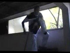 French Thugs vidz - Big  super black cock and white guys