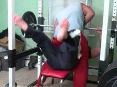 Ronnie J vidz Gym bound