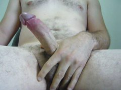 Foreskin play, vidz jerking off  super and cumming on myself