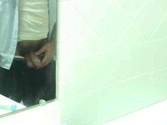 Pierced Bear vidz Taking A  super Leak In Public