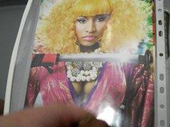 Nicki Minaj vidz cum tribute