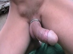 Gay Hard vidz Cock Outdoor  super 4