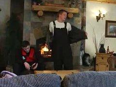 Ski Cabin vidz 3some