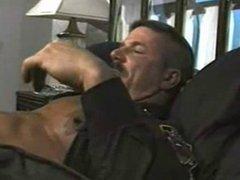 Hot Daddy vidz Cop fuck  super her boy