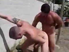 Ben Archer's vidz Outdoor Threesome