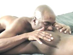 Oral sex vidz between three  super gay black guys