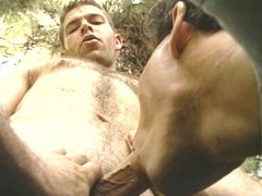 Hot gay vidz guys fucking  super in the forest