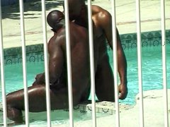 White boy vidz gets filled  super with black dick