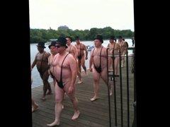 Older Men vidz in Thong  super Swimsuits