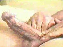 stroking a vidz big cock