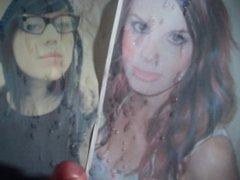 Cum Tribute vidz for Katie  super and Fran