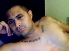 Caught Miami vidz Latin Tatt'd  super Jerkoff Spy