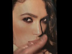 Keira Knightley vidz tribute facial  super cum pic