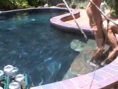 Older fellows vidz play at  super the pool!