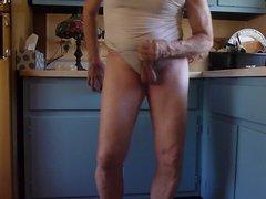 Watch me vidz masturbate in  super the kitchen.