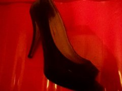 wife black vidz shoes heels  super schuhe shoejob